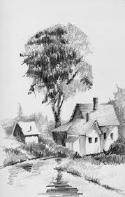 pictures sketch painting pencil nature hd drawing art gallery