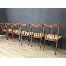 Keller Dining Room Furniture 1950s Vintage Keller Hickory Re Upholstered Dining Chairs Set Of