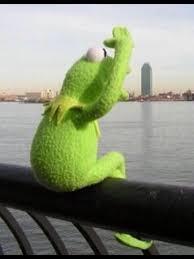 Exles Of Memes - kermit the frog on twitter waiting for spring break like http