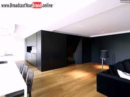 Beamer Im Wohnzimmer Wohnwand Schwarz Trennt Küche Wohnzimmer Essbereich Youtube