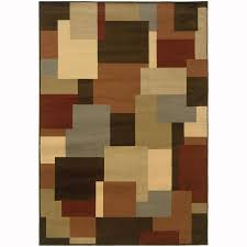 Nature Area Rugs Shop Archer Bache Brown Indoor Nature Area Rug Common 8 X