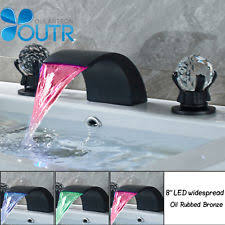 Led Bathroom Faucet by Led Waterfall Faucet Ebay