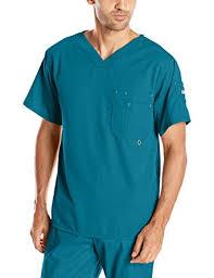 grey s anatomy s modern fit v neck scrub top clothing