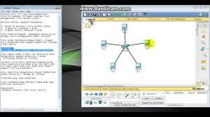 membuat jaringan lan dengan cisco packet tracer cara membuat jaringan topologi star menggunakan cisco packet tracer