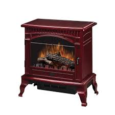 Comfort Flame Fireplace Dimplex Traditional 400 Sq Ft Electric Stove In Red Ds5629cr
