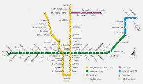 Manhattan Metro Map by Toronto Ontario Subway Map My Blog