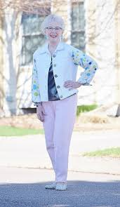 what is in style for a 70 year old woman silver shoes 3 with pink pants jodie s touch of style