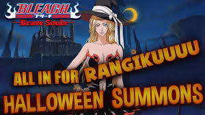 halloween spirit balls bleach brave souls halloween summons all in for rangikuuu