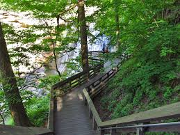 Ohio Waterfalls Map by 12 Best Hiking Trails In Ohio