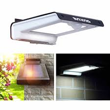 Solar Powered Wall Lights Uk - outdoor solar lights vandeng super bright 32 led solar powered