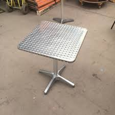 Aluminium Patio Table Secondhand Chairs And Tables Outdoor Furniture 6x Aluminium