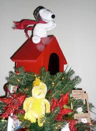 snoopy tree snoopy christmas tree topper christmas lights decoration