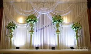 wedding backdrop prices 2017 top sale wedding backdrop curtain in white color stage drape