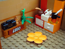lego collectable corner minifig maison apartment kitchen