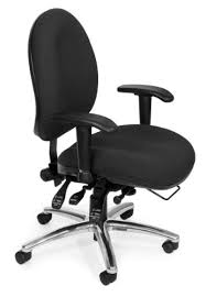 kore everyday kore office wobble chair black leather like