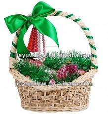 selling handmade empty gift willow flower baskets with