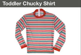 Toddler Chucky Costume Chucky Costume Shirt T Shirts Design Concept
