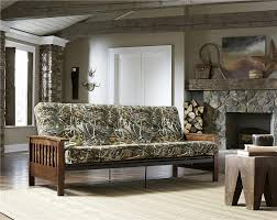 Full Futon Mattress Cover Dhp Furniture 6 Inch Realtree Max 5 Poly Filled Full Size Futon