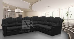 Large Corner Sofa Large Grey Leather Corner Sofa Eo Furniture
