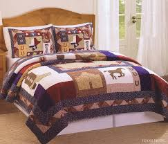 girls quilt bedding cowboy bedding twin full quilt cowboy kids and boys bedding
