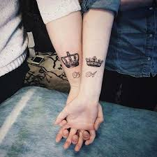 51 king and queen tattoos for couples page 2 of 5 stayglam