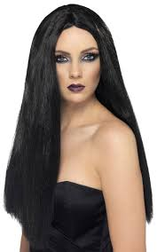 witch costume hairstyles long black straight witch wig women u0027s vampire black wig