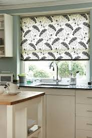 Best Blinds For Bay Windows Bold Kitchen Painted In Red Walls And Using White Cabinets And