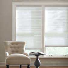 Pleated Shades For Windows Decor Home Decorators Collection Snow Drift 9 16 In Cordless Light