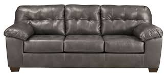 buy ashley furniture 2010238 alliston durablend gray sofa