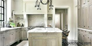 Whitewashed Kitchen Cabinets How To Whitewash Kitchen Cabinets White Washed Oak Kitchen