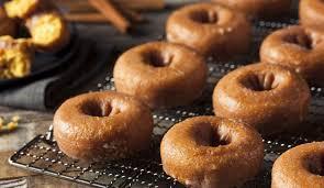 krispy kreme pumpkin spice glazed doughnuts to return for one