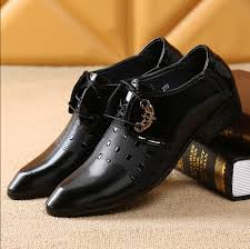 chaussures mariage homme luxury 2017 leather shoes chaussure homme noir brand