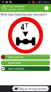 rto driving licence test android apps on google play
