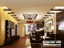 On Plaster Ceiling Design For Living Room  In Home Decoration - Ceiling design for living room