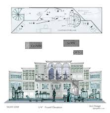 Set Design Floor Plan Painter U0027s Elevations For Theater Google Search Scene Design