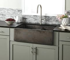 kitchen sinks with drainboard built in farmhouse apron sink solid
