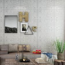 living room bar restaurant cafe industrial wind wallpaper gray