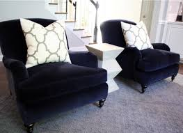 living room awesome accent chair design ideas with navy blue