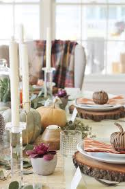rustic chic thanksgiving tablescape hop city farmhouse