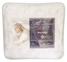serene dreams down alternative comforter curtain u0026 bath outlet