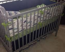ivory crib bedding etsy