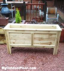 diy planter box tutorial for patio or balcony planters diy