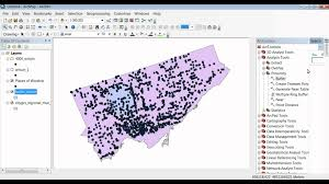 Map Radius Tool Arcmap 10 Extracting A Defined Selection Within A Distance Of
