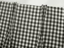 Black Gingham Curtains Stylish Black And White Gingham Curtains Decorating With Black And