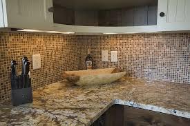 Wall Panels For Kitchen Backsplash Amazing Brown Subway Tile Backsplash With Contemporary Wooden