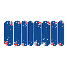 wraps australia flags lazy nails world cup nail wraps australia