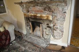 Remove Brick Fireplace by Growing Things And Making Things Fireplace Excavation