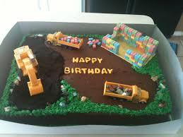 construction birthday cupcake cake this was a fun cake to make