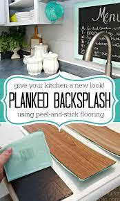 Kitchen Backsplash Peel And Stick 8 Diy Backsplash Ideas To Refresh Your Kitchen On A Budget