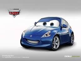 nissan cars all cars characters disney cars nissan 370z by yasiddesign